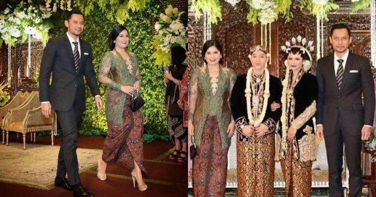 Gaya Annisa Pohan hadiri pernikahan Kartika Sary jadi sorotan