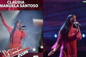 Juara The Voice Jerman, begini aksi Claudia Emmanuela di final