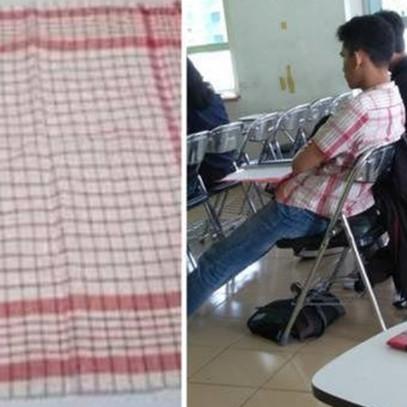 10 Cocoklogi motif baju sama benda sehari-hari ini bikin tersenyum