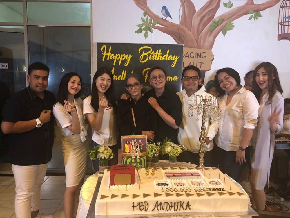 Momen ultah Andhika Pratama Instagram