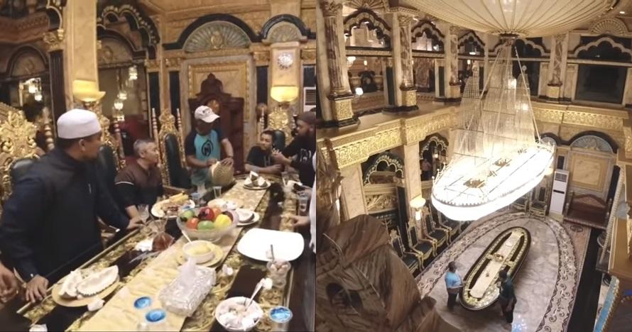 5 Fakta 'Crazy Rich Palu', rumahnya mewah berlapis emas