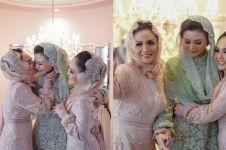 9 Momen Krisdayanti & Yuni Shara lepas sang adik menikah, haru