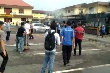 Pembawa bom Mapolresta Medan sempat dikejar sebelum ledakkan diri