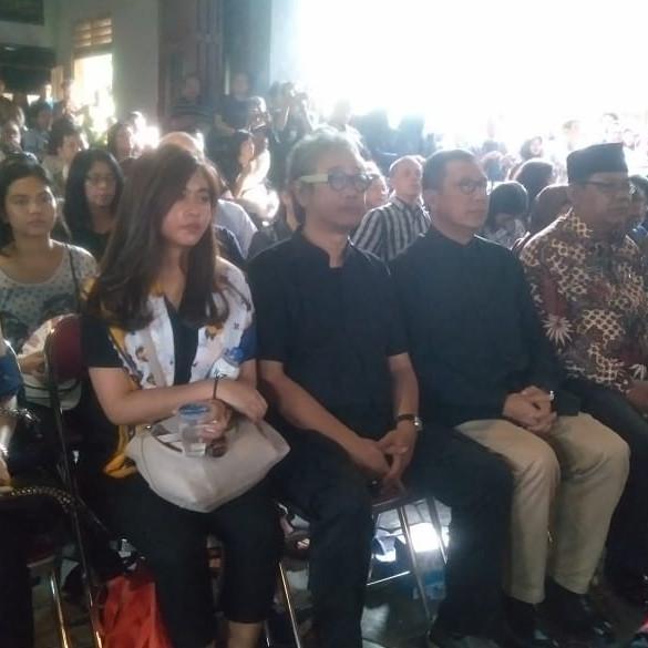 Mantan Menag Lukman Hakim hadiri prosesi pemakaman Djaduk Ferianto