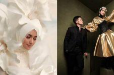 9 Potret prewedding Citra Kirana & Rezky Aditya bernuansa glamor