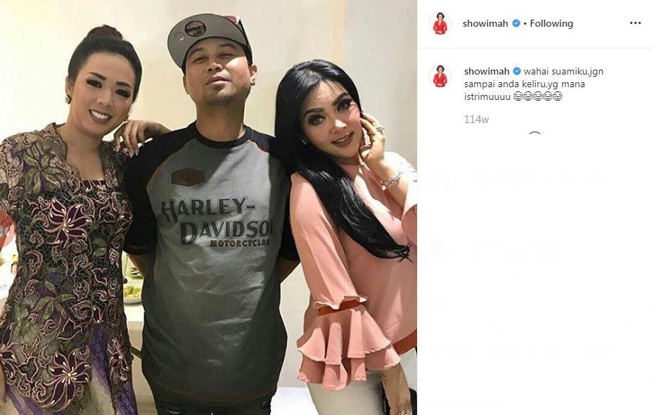 Soimah dan suami kocak  Instagram