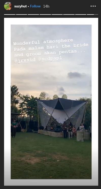 Fakta unik pesta pernikahan Jerinx SID dan Nora Alexandra Instagram