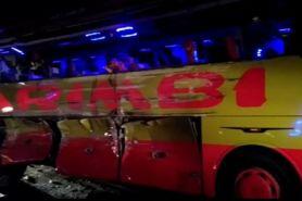 Kronologi kecelakaan bus di Tol Cipali, tewaskan 7 orang