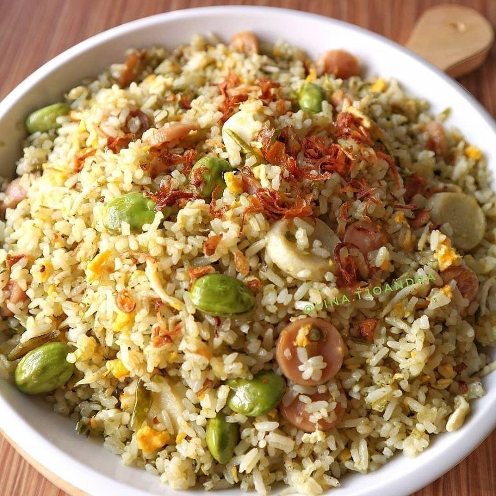 9 Resep nasi goreng pedas, enak Instagram/@arlindanreza  @dapurfoody
