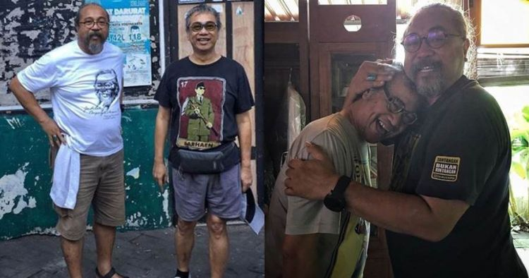 Momen Butet Kertaradjasa mengenang Djaduk Ferianto, haru
