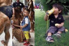 10 Momen apes anak-anak di tempat umum, kocak tapi kasihan