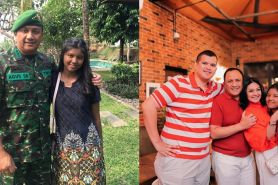 Suami Bella Saphira pensiun dari TNI, ini 5 pesan sang anak