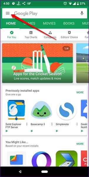 3 Cara memperbarui PlayStore ke versi terbaru di Android guidingtech