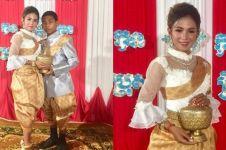 Viral pernikahan dini, bocah 14 tahun nikahi gadis cantik