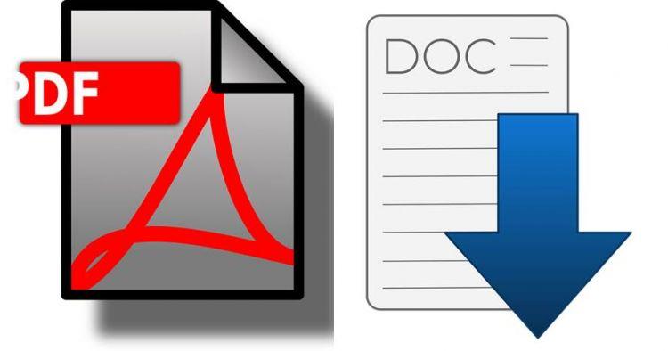 5 Cara mengubah PDF ke WORD di HP dan PC, offline & online