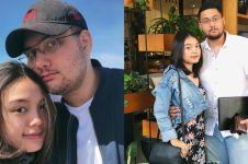 8 Momen mesra anak Meriam Bellina, Nigel Philo dan pacarnya