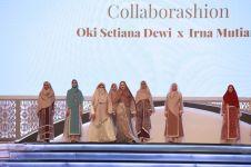 Oki Setiana Dewi x Irna Mutiara hadirkan busana muslim elegan