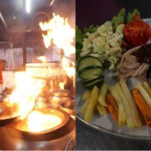 Mencicip Kobra Imperial Kitchen, kuliner ekstrem cita rasa juara