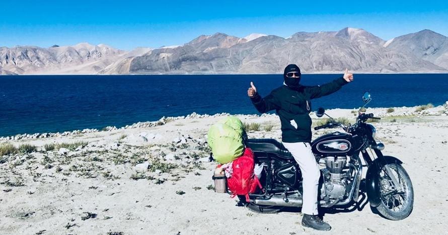 Joseph Mentari, jelajahi daerah tertinggi bumi dengan motor