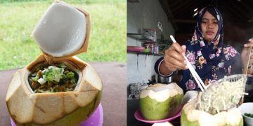 Mi ayam kelapa muda, kuliner unik lezat dan menyegarkan