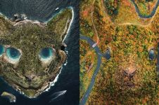 10 Potret manipulasi pemandangan alam & binatang, bikin takjub