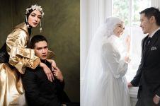 10 Gaya prewedding Citra Kirana & Rezky Aditya, simpel elegan