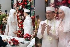 7 Momen pernikahan Dian Pelangi dan Sandy Nasution