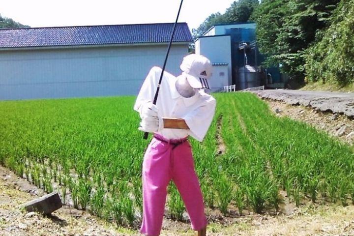 11 Orang-orangan sawah di Jepang ini unik dan serem abis