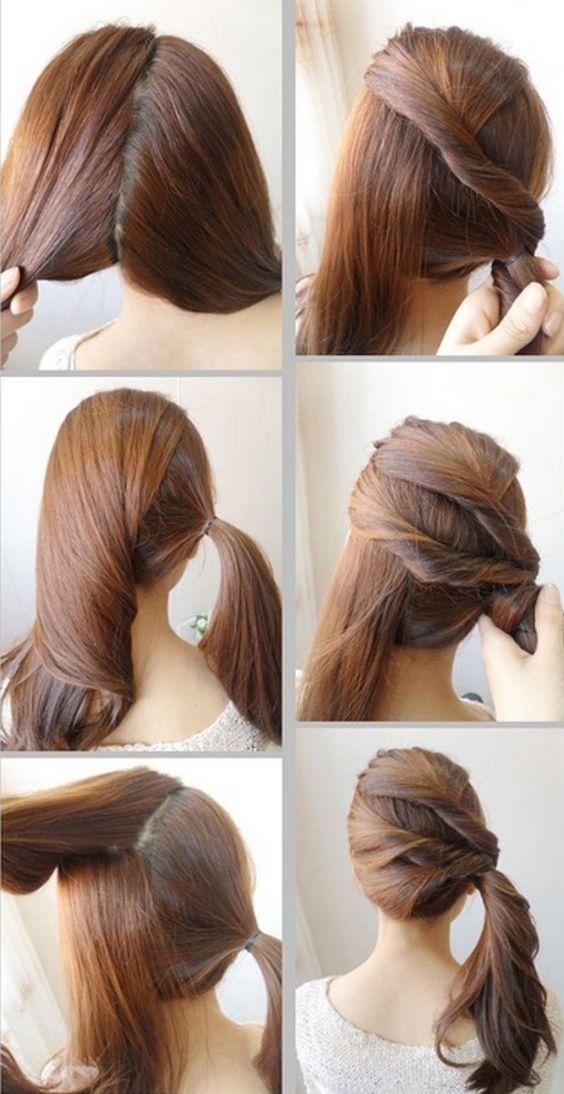 Cara mengikat rambut simpel Istimewa