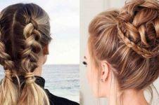 15 Cara mengikat rambut simpel dan nggak pakai ribet