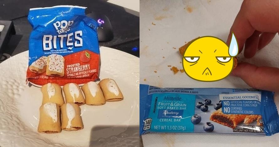 8 Penampakan snack tak sesuai ekspektasi, bikin kesal pembeli