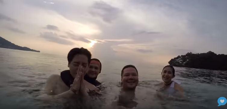 6 Momen Roger & Cut Meyriska diving pertama kali Instagram/@cutratumeyriska