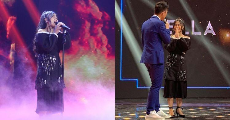 Della tersingkir dari panggung spektakuler Indonesian Idol