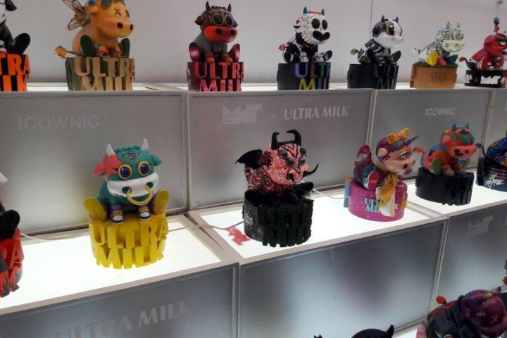 Icownic, mainan pendobrak batas gabungan ikon sapi dan pop culture