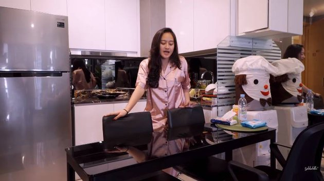 potret apartemen salshabilla adriani  YouTube