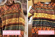 Realita 10 baju di online shop, bikin cewek ngomel seharian