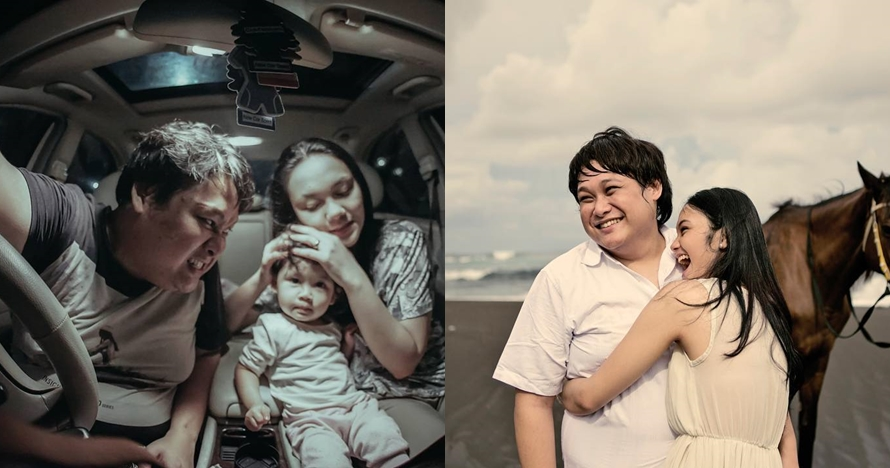 9 Momen mesra Cecep Reza 'Bombom' dan istri, penuh kenangan