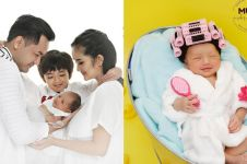 7 Potret newborn baby Grandine, anak kedua Faby Marcelia