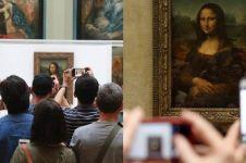 Replika lukisan Mona Lisa terjual dengan harga lelang Rp 8,62 M