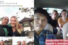 7 Momen driver ojek online kepedean antar bule cantik, kocak