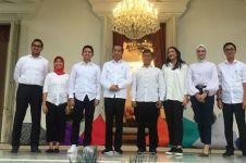 Jokowi umumkan 12 nama staf khusus, 7 dari kalangan milenial