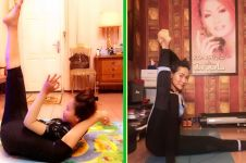 7 Momen Inul lakukan pose tak biasa, bukti tubuhnya lentur abis