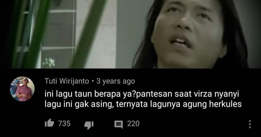komentar nyinyir di YouTube  Istimewa