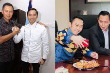 Foto lawas Ibas di unggahan Agus Yudhoyono ini manglingi