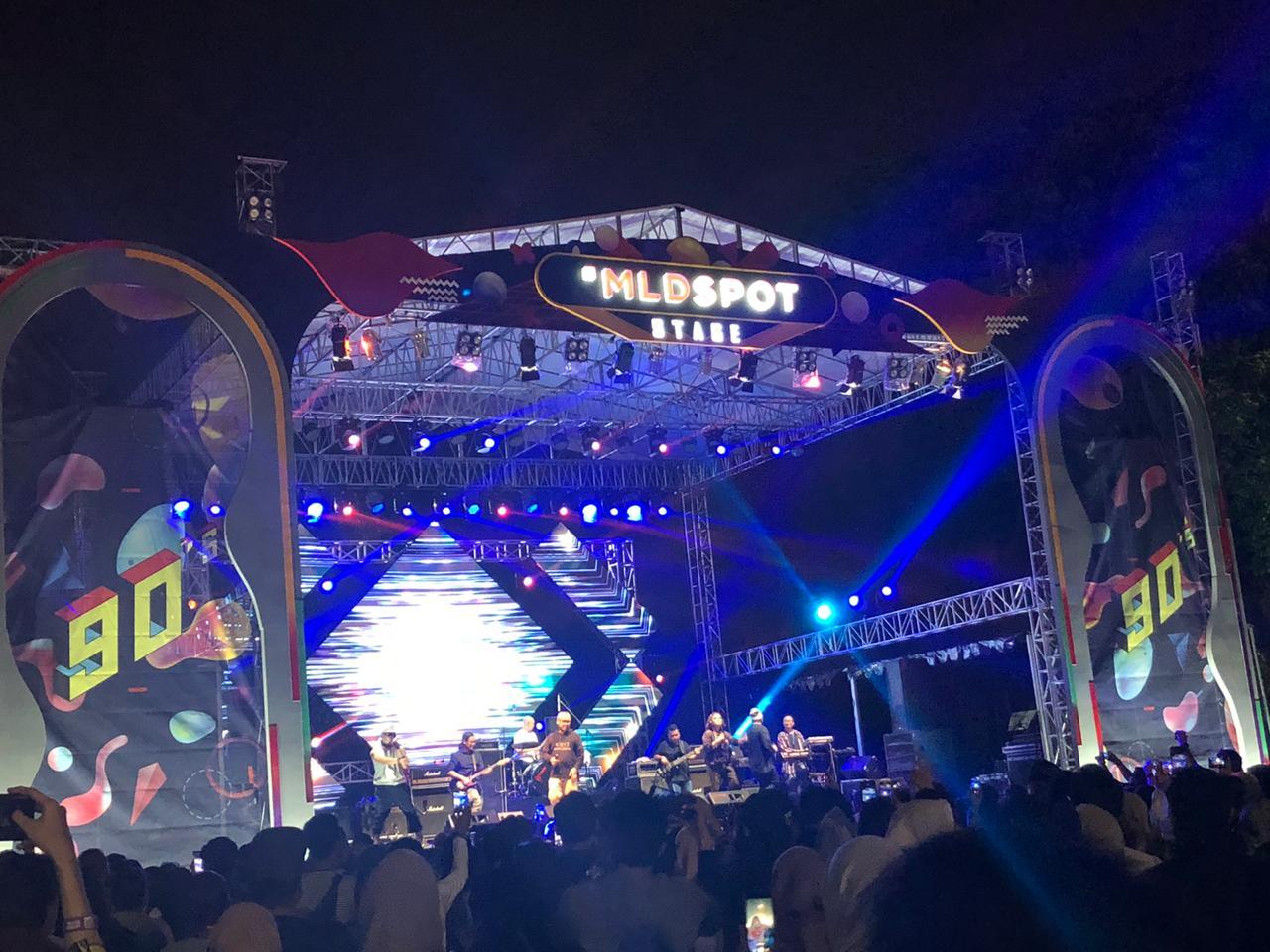 Reuni di The 90's Festival, Tofu bikin penonton nostalgia