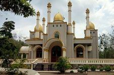 Masjid indah ini dibangun di tengah hutan, begini penampakannya