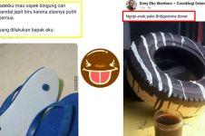 10 Status medsos lucu ini bukti bapak-bapak terlalu kreatif