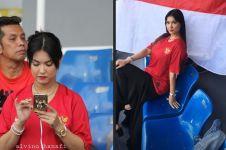 10 Momen Maria Ozawa dukung timnas Indonesia di SEA Games 2019