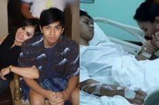 Patah tulang jatuh dari motor, begini kondisi putra Yuni Shara