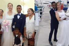 Viral pria asal Flores nikahi bule Prancis cantik, bikin iri